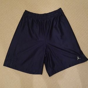 2/$20 Jordan basketball shorts pants blue sz L